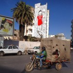 Millo creates a new mural in Casablanca, Morocco