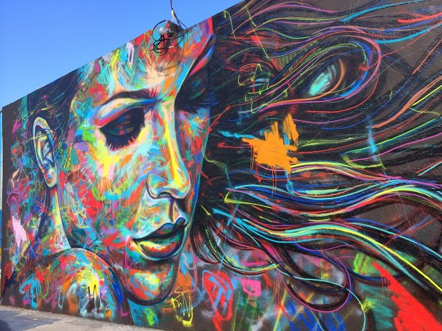 David Walker New Mural For Art Basel '13 – Miami, USA