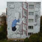 """Everywhere I Go"", a new mural by Millo in Minsk, Belarus"
