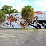 REKA New Mural for Art Basel '13 – Miami, USA