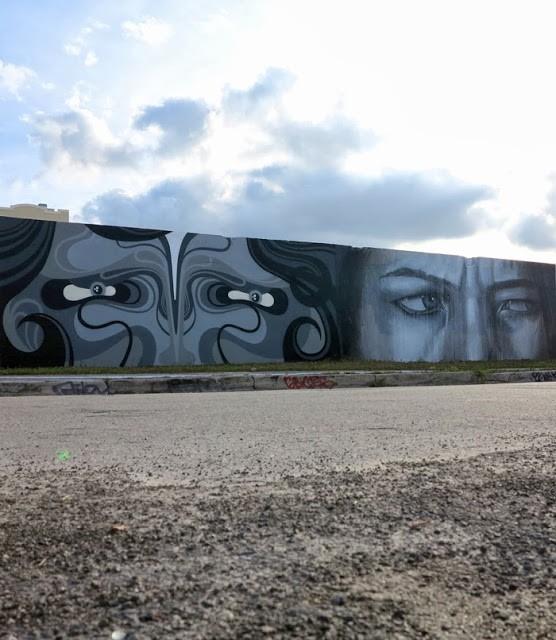 "REKA x RONE ""Eyes"" New Mural – Miami, USA"