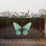 "Ludo ""e-Lepidoptera"" New Street Piece – Paris, France"