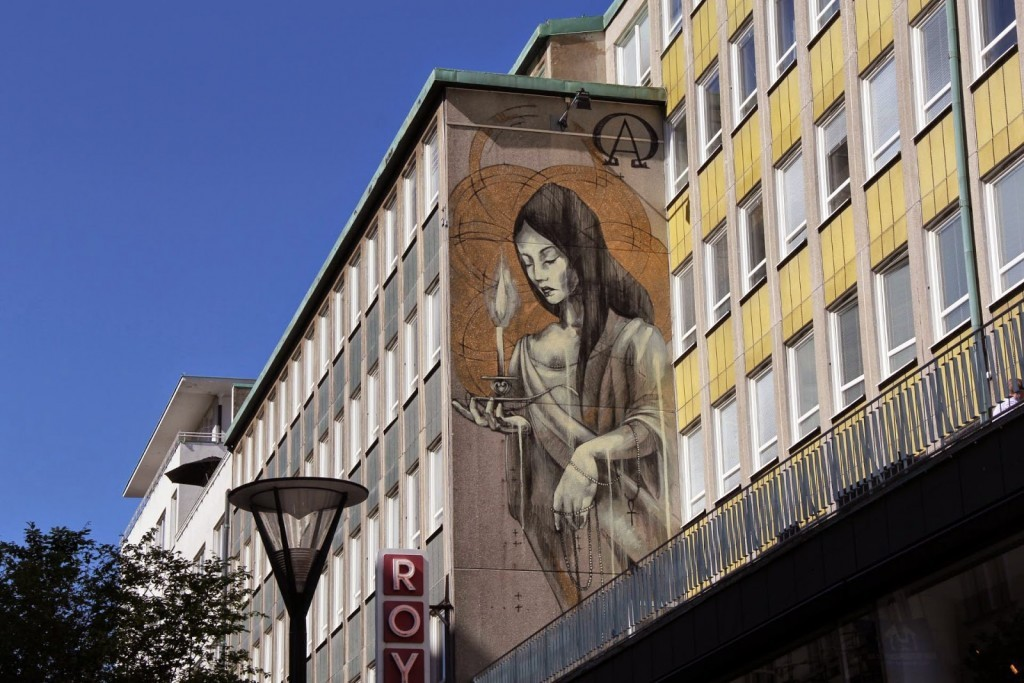 Faith47 New Mural For ArtScape Festival – Malmo, Sweden