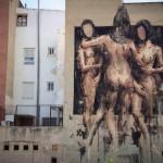 Borondo New Mural In Blanca, Spain