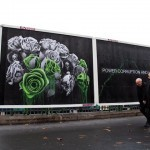 "Ludo ""Power Corruption And Lies"" New Street Piece – Paris, France"