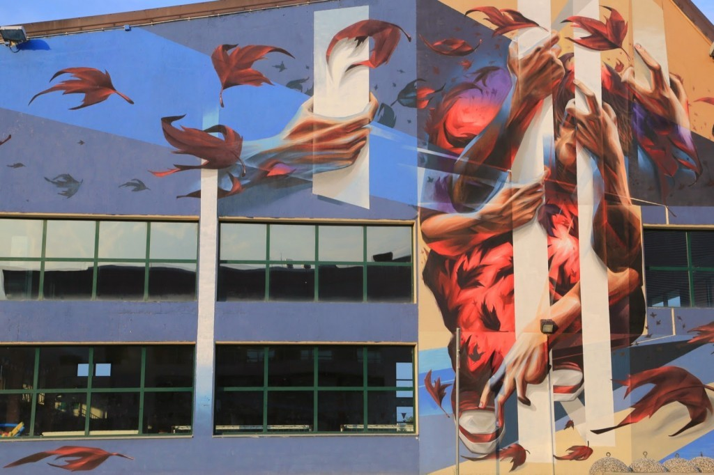 Vesod New Mural For StreetAlps – Pinerolo, Italy