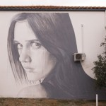 RONE creates a new mural in Canberra, Australia