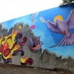 Juan Salgado New Mural For Los Muros Hablan '13 – San Juan, Puerto Rico