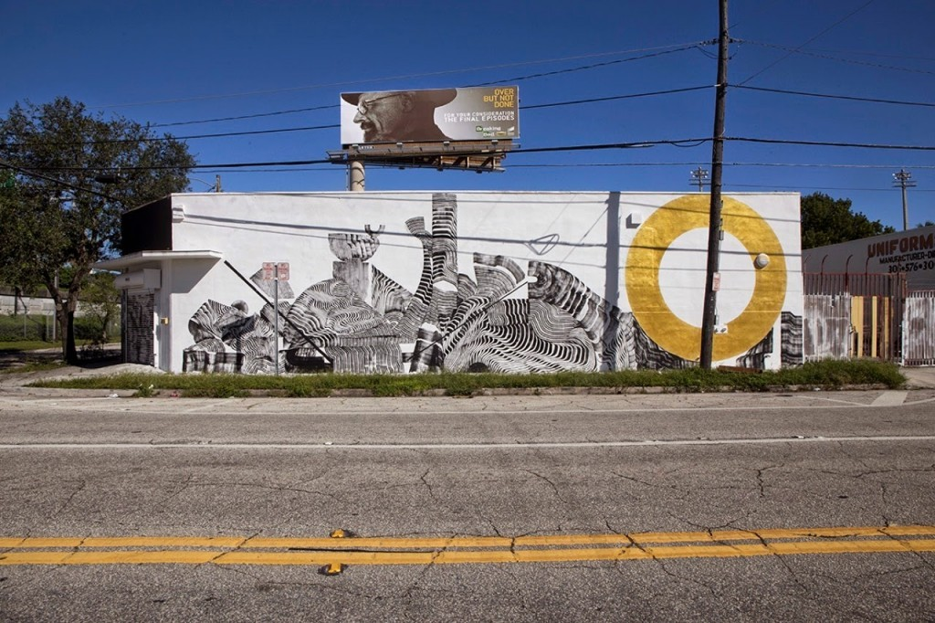 Art Basel '14: 2501 unveils a new mural in Miami, USA