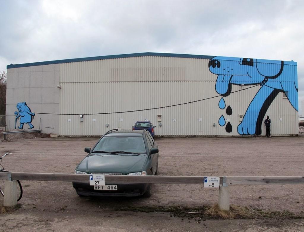 HuskMitNavn New Mural – Linköping, Sweden