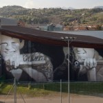 Axel Void New Mural For Mission To Art & StreetAlps – Pinerolo, Italy