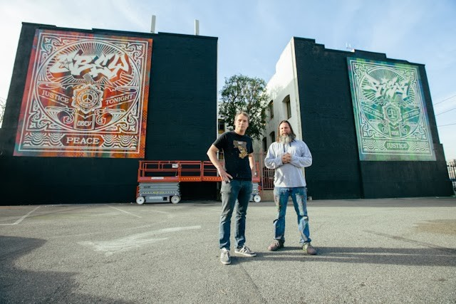 Shepard Fairey x RISK New Collaboration – Los Angeles, USA