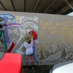 Lady Aiko Work In Progress For POW! WOW! Hawaii '14 – Honolulu