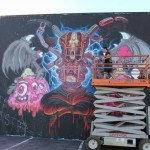 Nychos x Buff Monster Work In Progress For POW! WOW! Hawaii 2014 – Honolulu