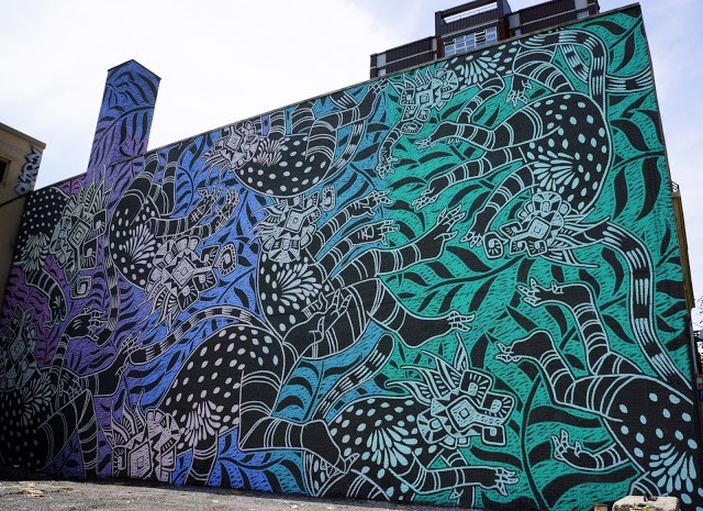 Mural '15: Curiot creates a large new piece in Montreal, Canada