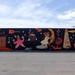 Dabs & Myla x Misery New Mural For POW! WOW! 2014 – Honolulu, Hawaii