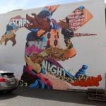 Tristan Eaton New Mural For POW! WOW! 2014 – Honolulu, Hawaii