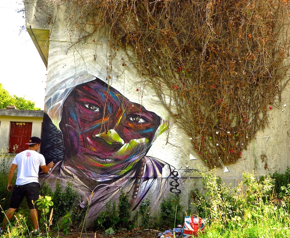 Hopare New Mural – Limours, France (Part II)
