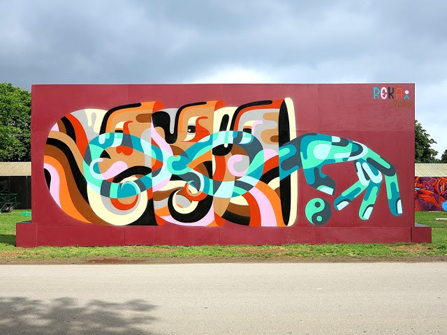 REKA creates a series of new pieces for Roskilde Festival in Denmark