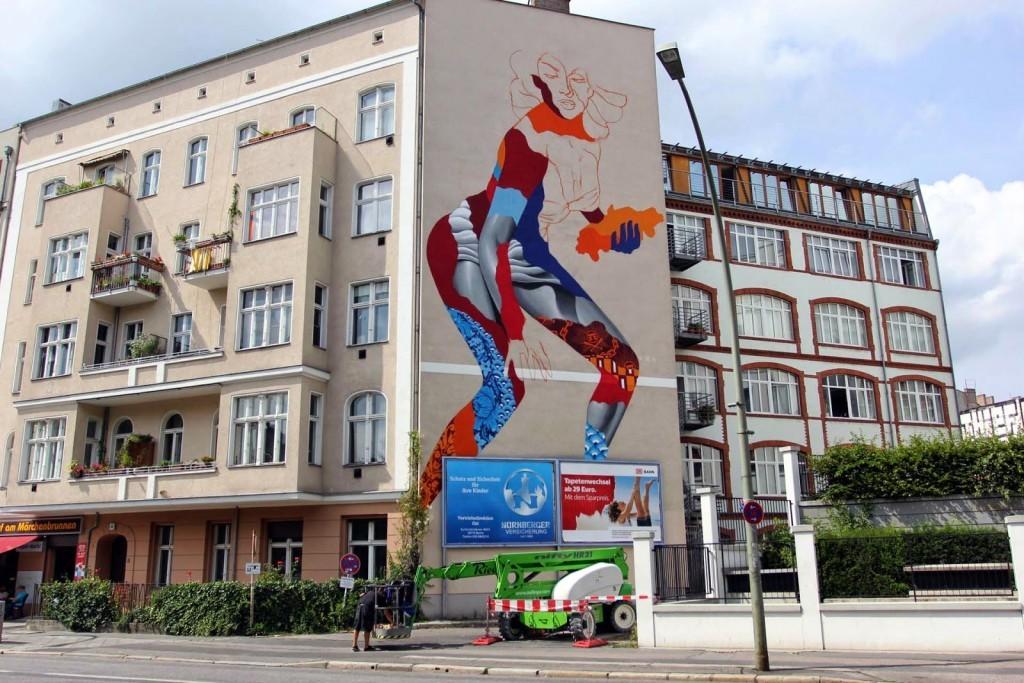 Tristan Eaton Work In Progress For Urban Nation – Berlin, Germany