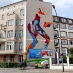Tristan Eaton Work In Progress For Urban Nation – Berlin, Germany