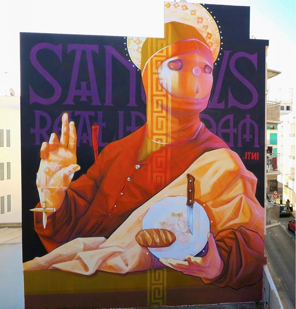INTI New Mural – San Antoni, Ibiza