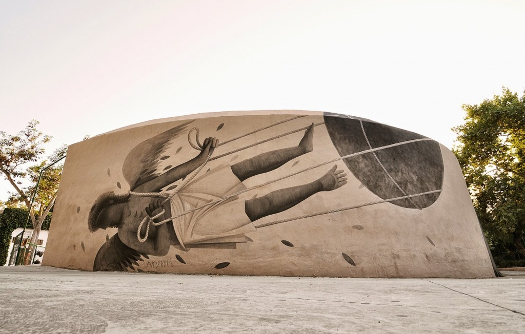 Fikos Antonios New Mural – Ibiza, Spain