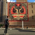 "Shepard Fairey ""We Own The Future"" New Mural – Chicago, USA"