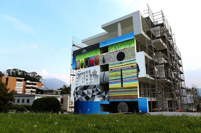 Xuan Alyfe New Mural For Arte Urbana Lugano '13 – Switzerland