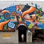 Beastman x Jack TML x Skount New Mural In Tel-Aviv, Israel