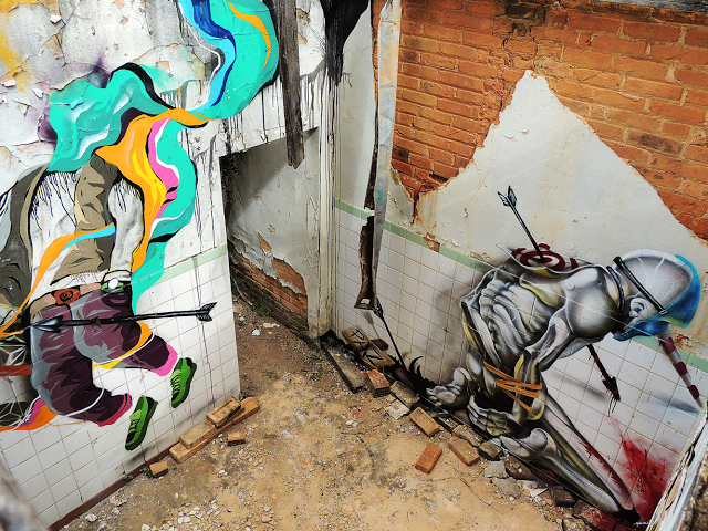 Michel Japs and Will Ferreira collaborate on a new piece in Sao Paulo, Brazil