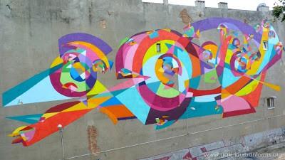 Kenor New Mural In Lodz, Poland