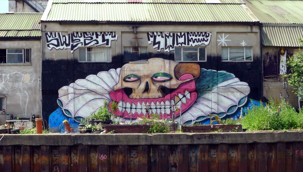 Sweet Toof New Mural – Hackney, East London