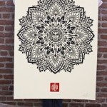 Large-Format Mandala Prints by Shepard Fairey