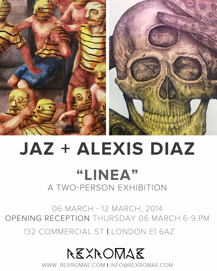 "Preview: Alexis Diaz x JAZ ""La Linea"" @ London's RexRomae – March 6th"