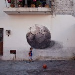 "Axel Void paints ""The Other Football"" for Board Dripper in Queretaro, Mexico"