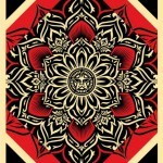 "Shepard Fairey ""Lotus Diamond"" New Print Available December 15th"