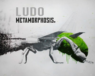 "Ludo ""Metamorphosis"" New Solo Show @ High Roller Society, London September 9th"