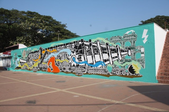M-City New Mural In Mumbai, India