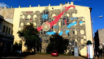 M-CITY New Mural In Lodz, Poland