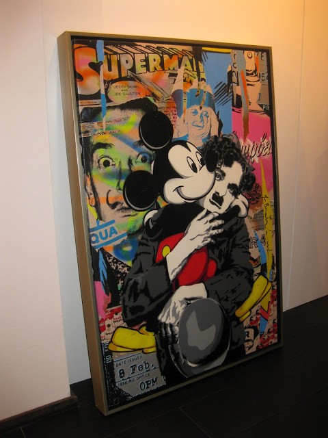 Mr Brainwash Geneva Exhibition Preview