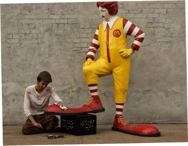 "Banksy ""McDonalds"" New Piece For ""Better Out Than In"" – South Bronx"