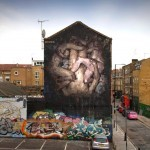 "Borondo ""Triade"" New Mural – Shoreditch, London"