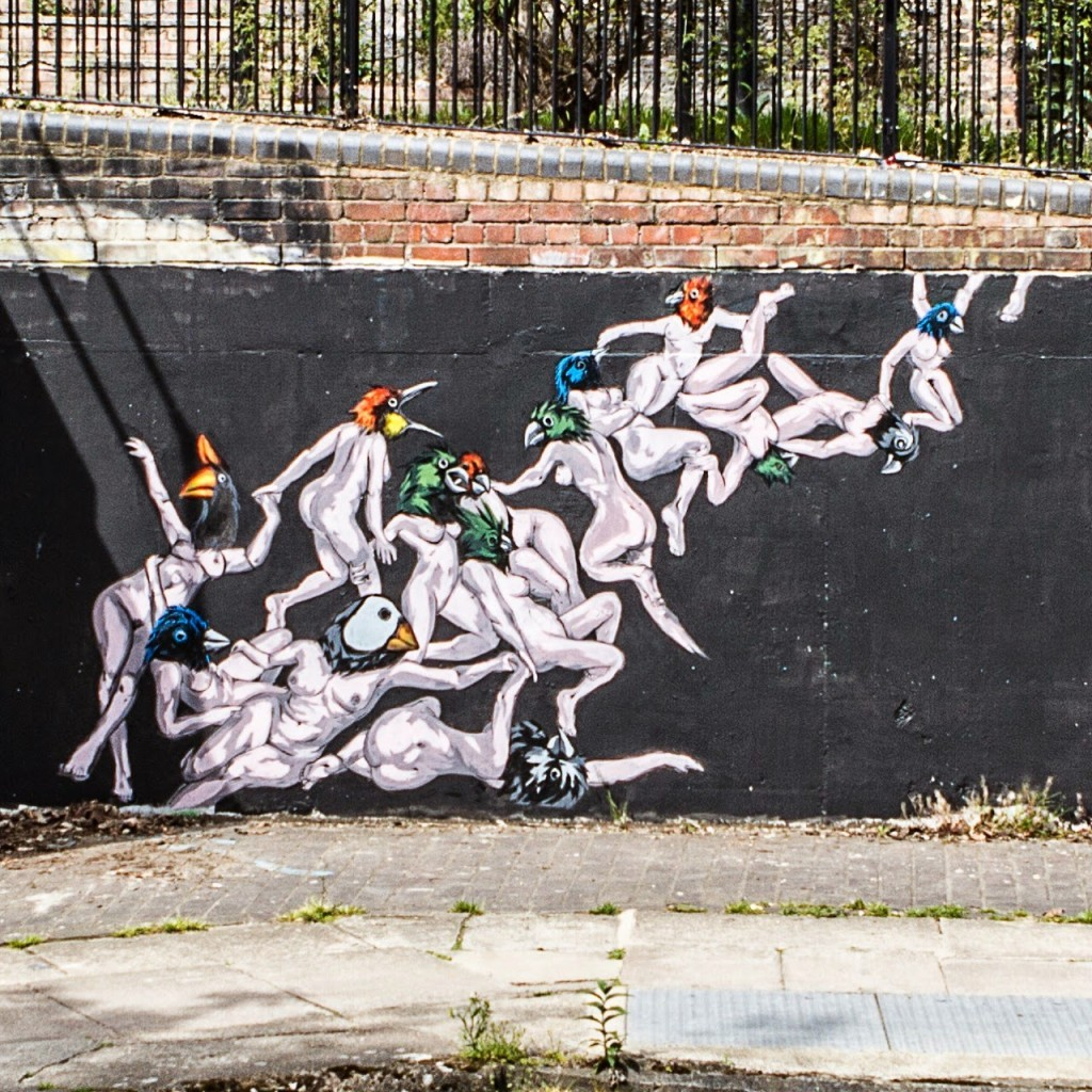 VinZ New Mural – London, UK