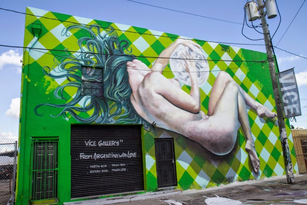 Art Basel '14: Martin Ron unveils a new piece in Wynwood, Miami