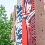 "Shepard Fairey unveils ""Israel / Palestine"", a new mural in Berlin, Germany"