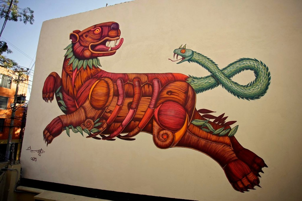Sego unveils a brand new mural in Mexico DF