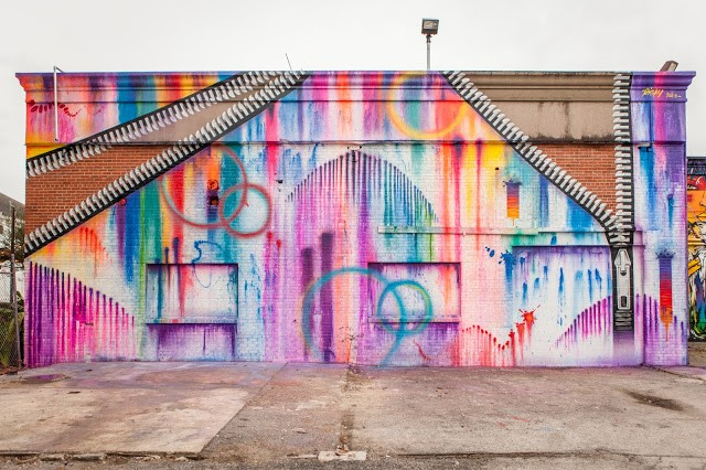 "Coverage: ""Hue Mural Festival"" in Houston, Texas."