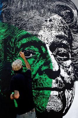 """Orticanoodles """"Rita Levi-Montalcini"""" New Mural In Carrara, Italy"""