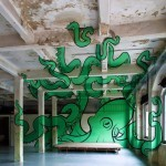 Mach05 unveils a giant anamorphic Octopus in Turin, Italy